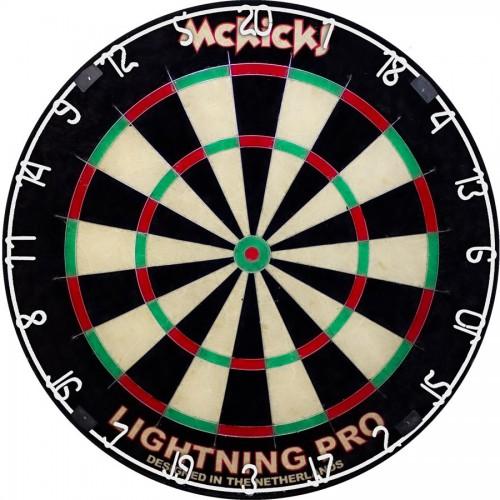 Dartboard Mc Kicks Lightning Pro