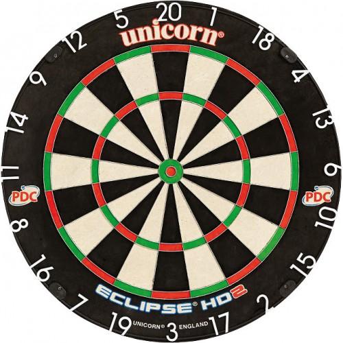 Unicorn Eclipse HD2 Pro Edition dartboard
