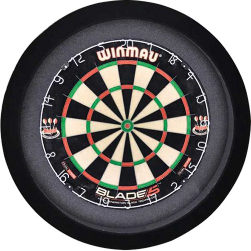 GrandSlam dartboard led-lighting Zwart