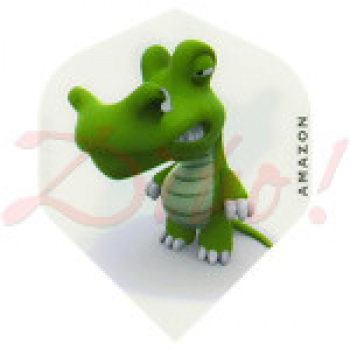Amazon Cartoon Crocodile flight