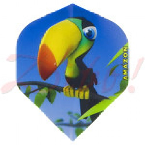 Amazon Cartoon Toucan flight