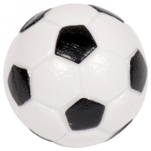 Voetbal met profiel zwart-wit 32 mm