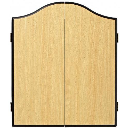 Winmau Beech DeLuxe dartboard cabinet