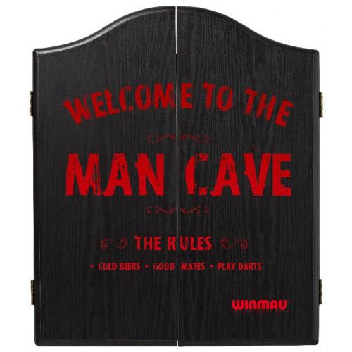 Winmau Man Cave DeLuxe dartboard cabinet