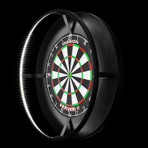 Mission Torus dartbord verlichtingWordt geleverd ZONDER dartbord en surround!
