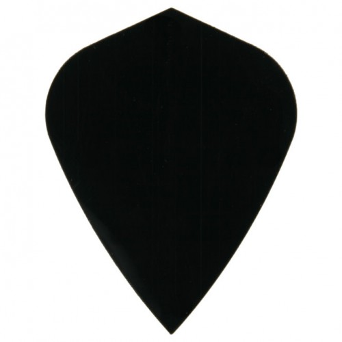 Poly Plain kite black flight