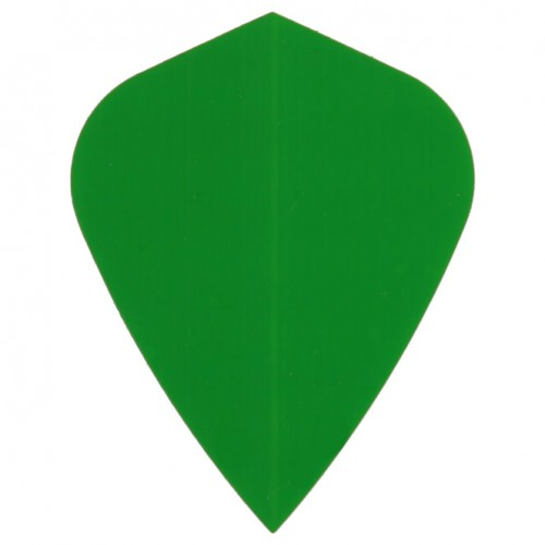 Poly Plain kite green flight