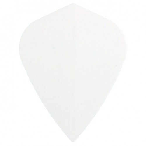 Poly Plain kite white flight