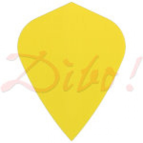 Poly Plain kite yellow flight