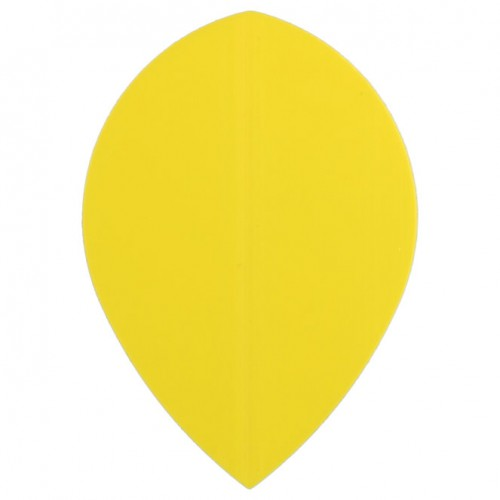 Poly Plain pear yellow flight