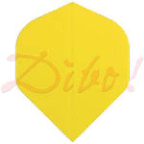 Poly Plain standard yellow flight