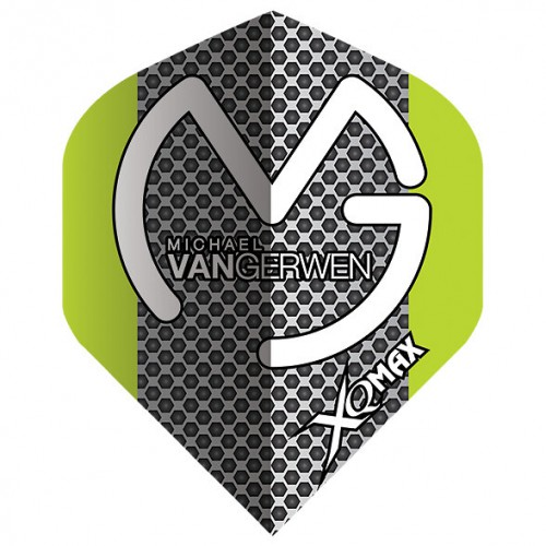 XQ Max Michael van Gerwen flight QD1000890