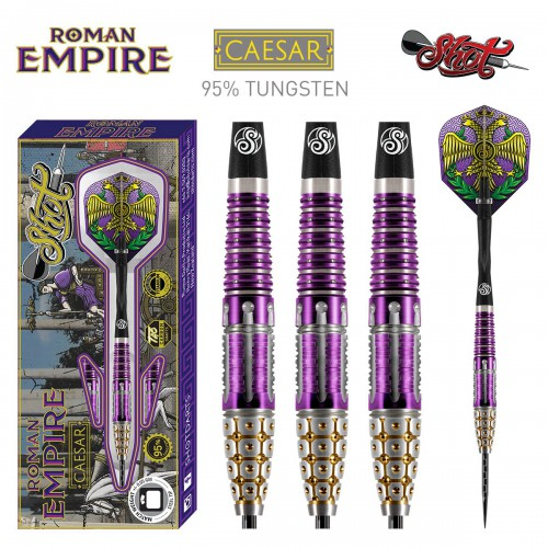 Shot darts Roman Empire Ceasar