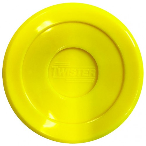 Twister Airhockey Puck 70 mm Geel