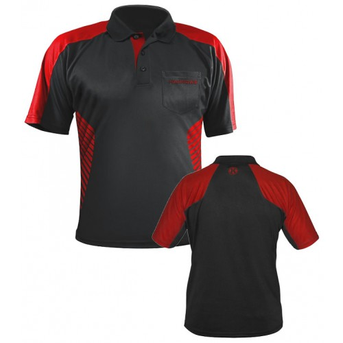 Harrows Vivid Dart Polo shirt Helder Rood