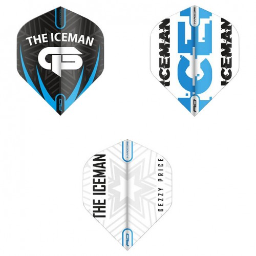 Red Dragon Hardcore The Iceman 3-pack flights