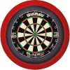 Grand Slam dartboard led-lighting Rood